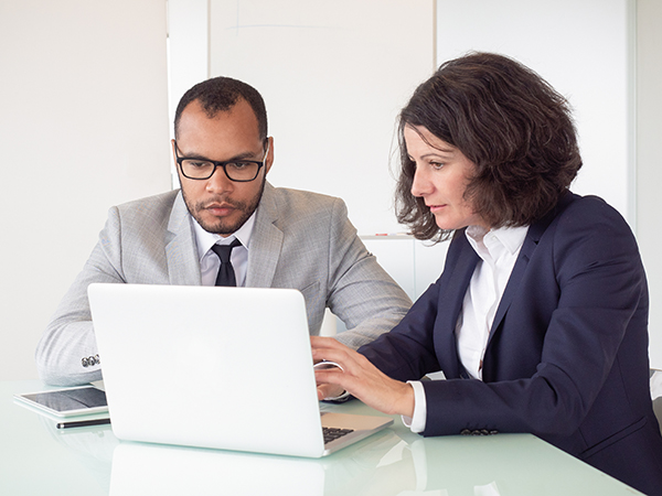 reviewing taxes with your accountant
